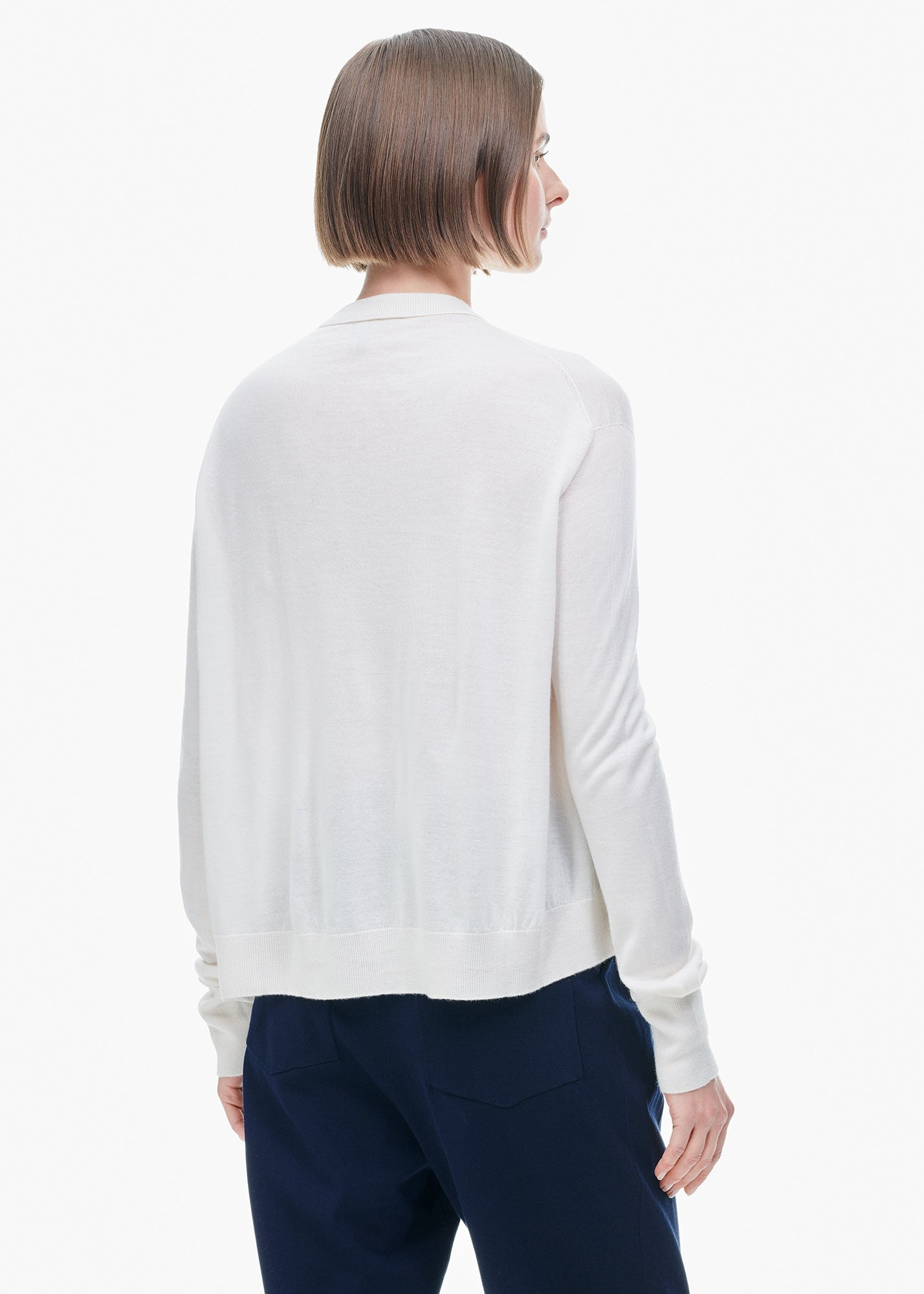 Boxy Cardigan Milk