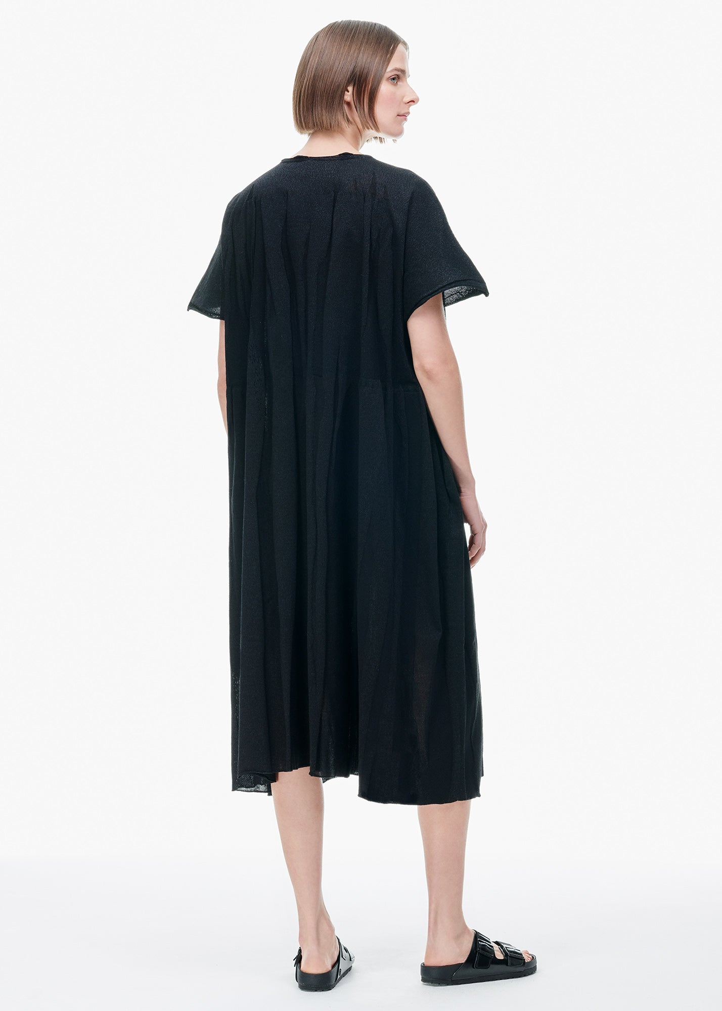 Cortex Knit Dress Black