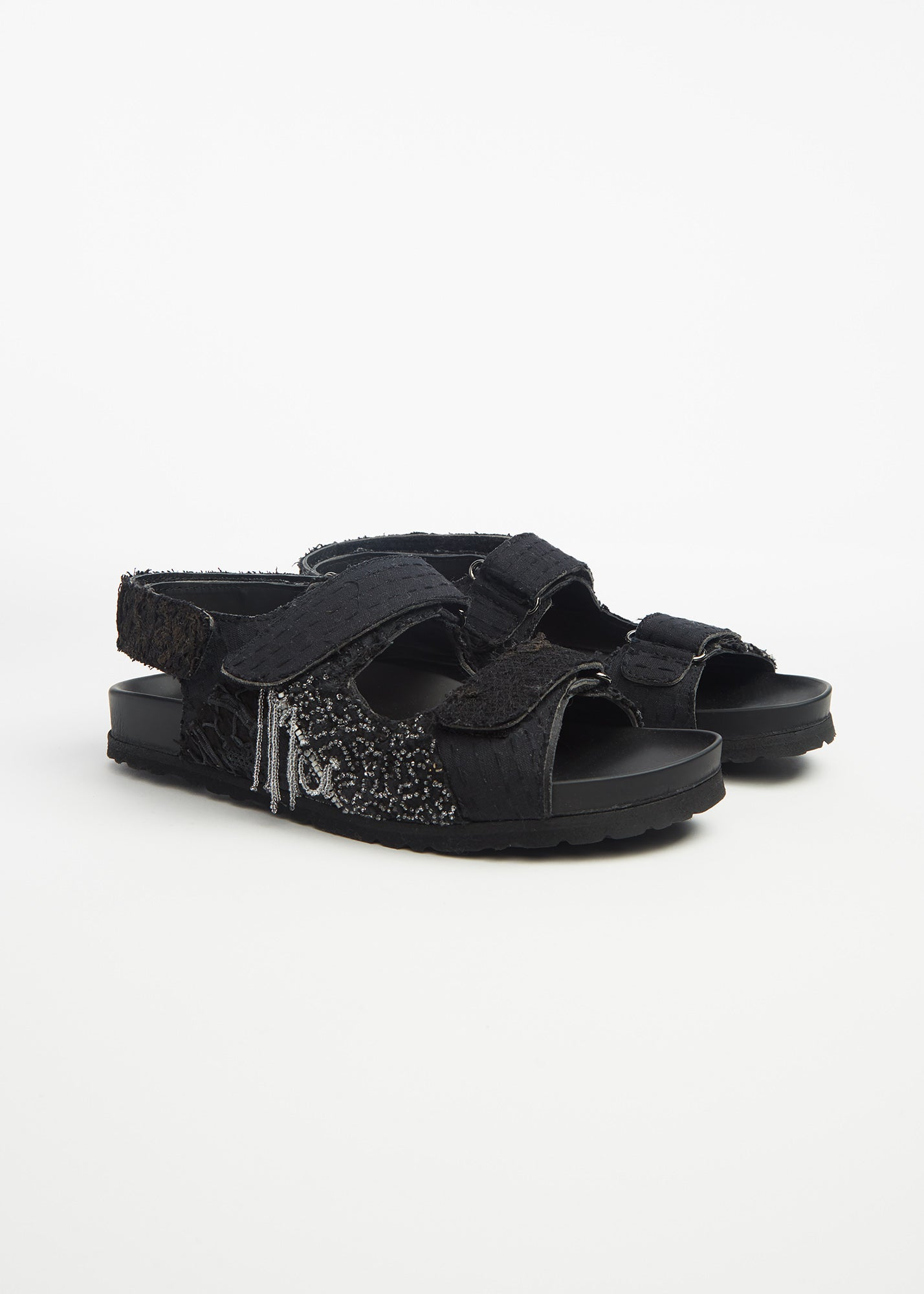 Embroidered Felix Sandal