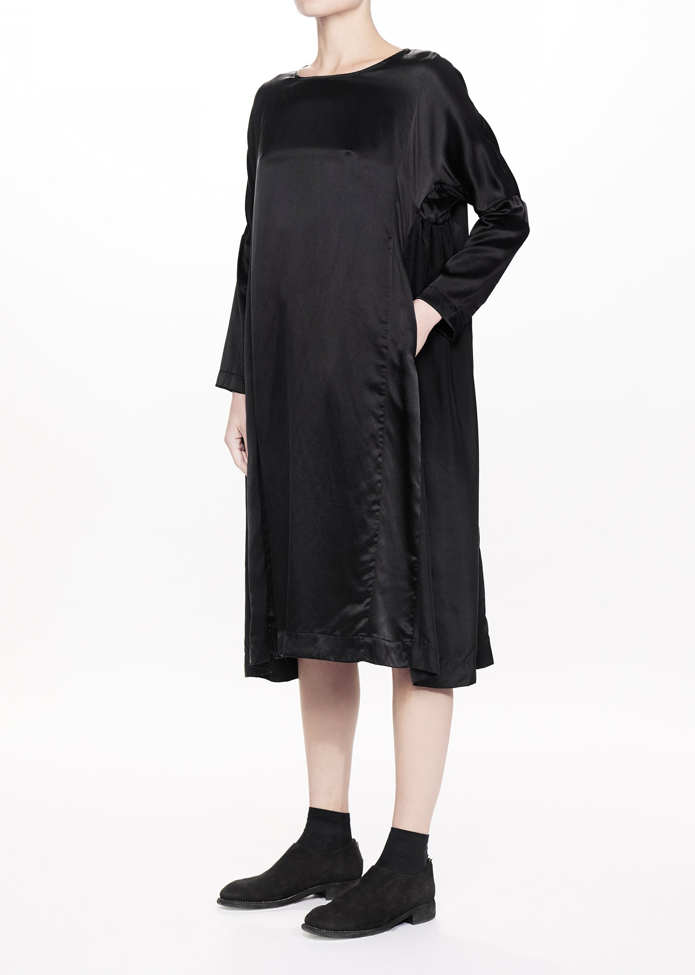 Pyj Dress Black Silk