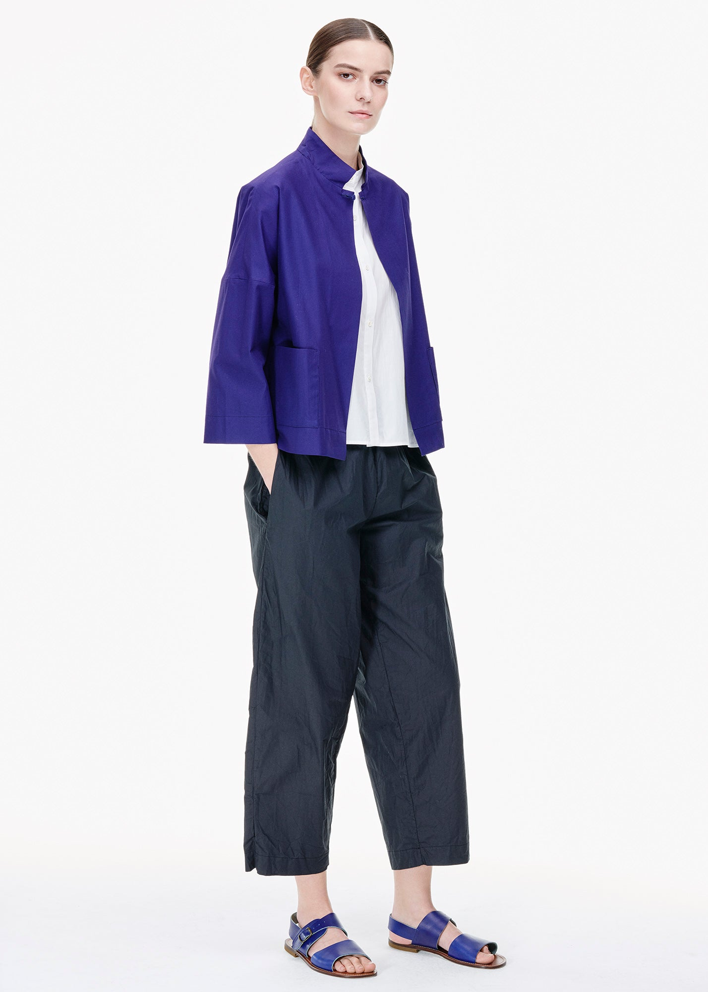 Prua Shirt Jacket Purple