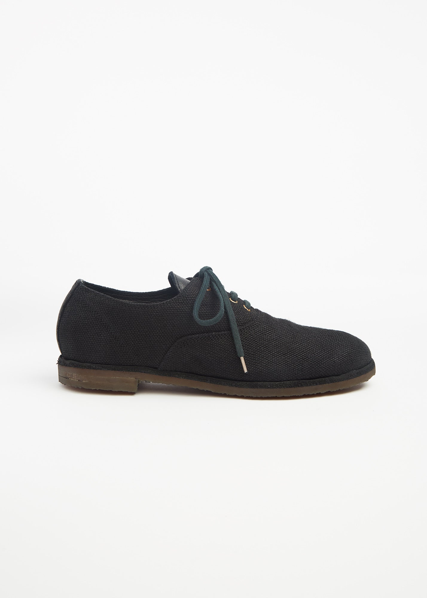 Army Lace Up Shoe Black