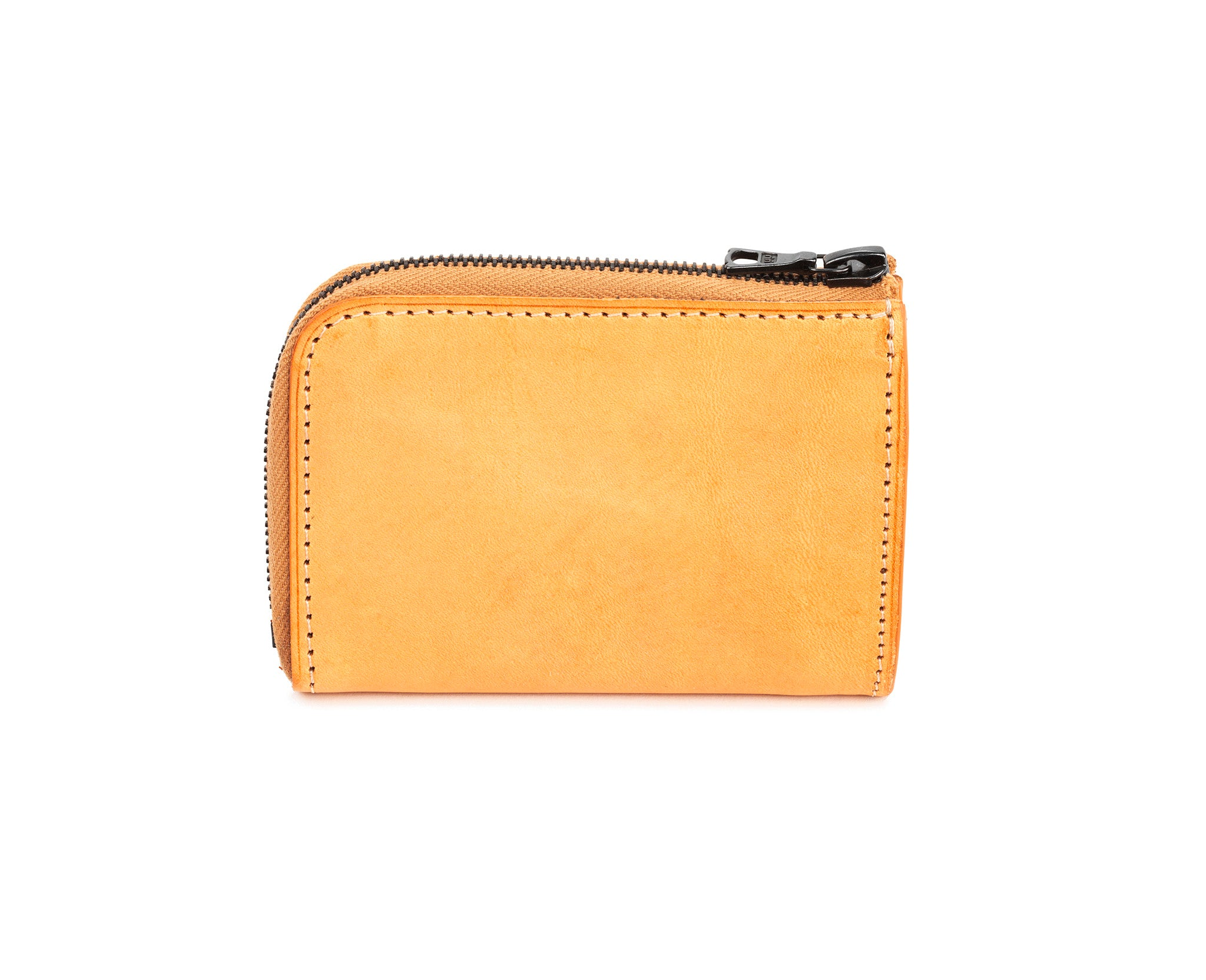 Mini Zipped Wallet Natural