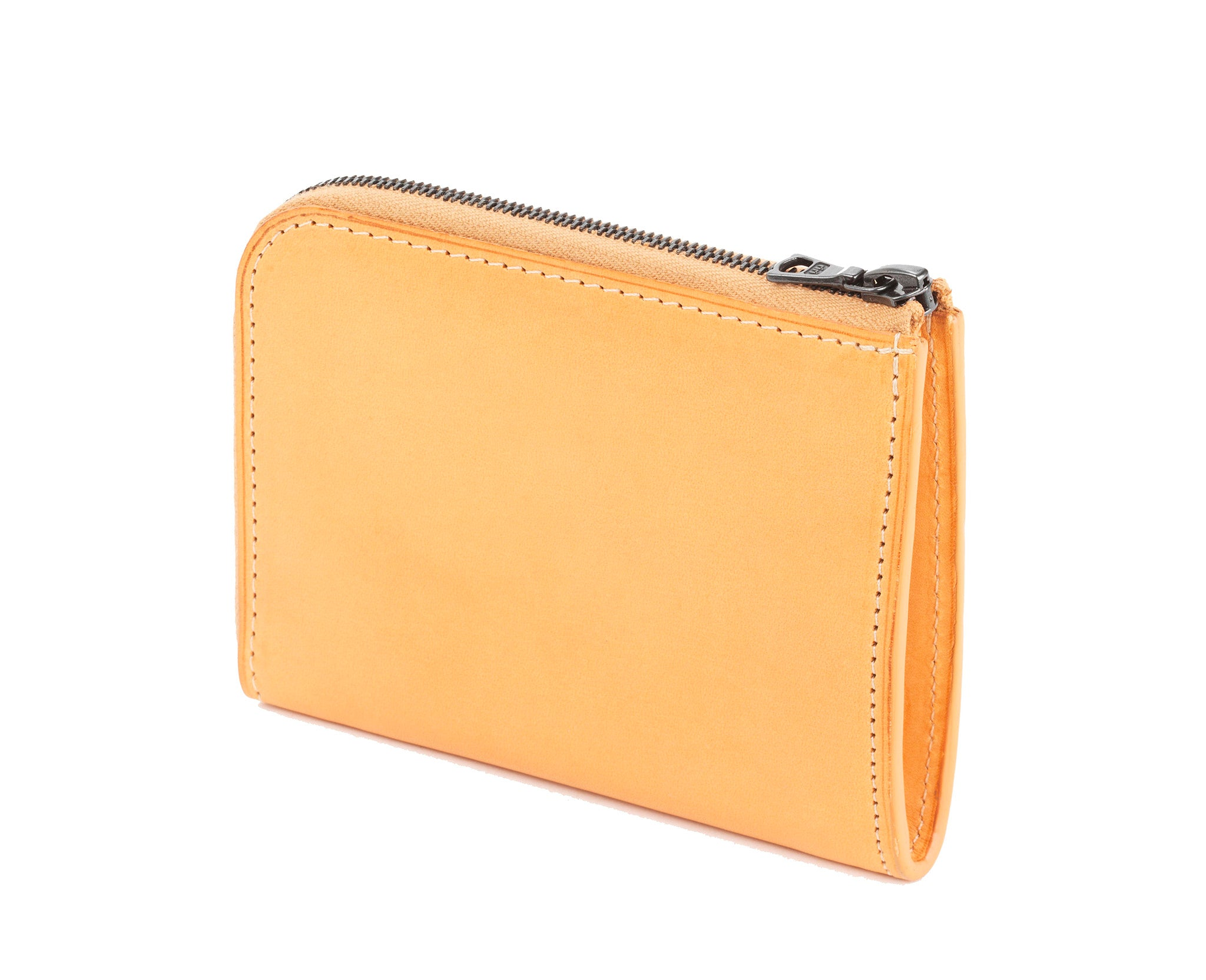 Zipped Wallet Natural