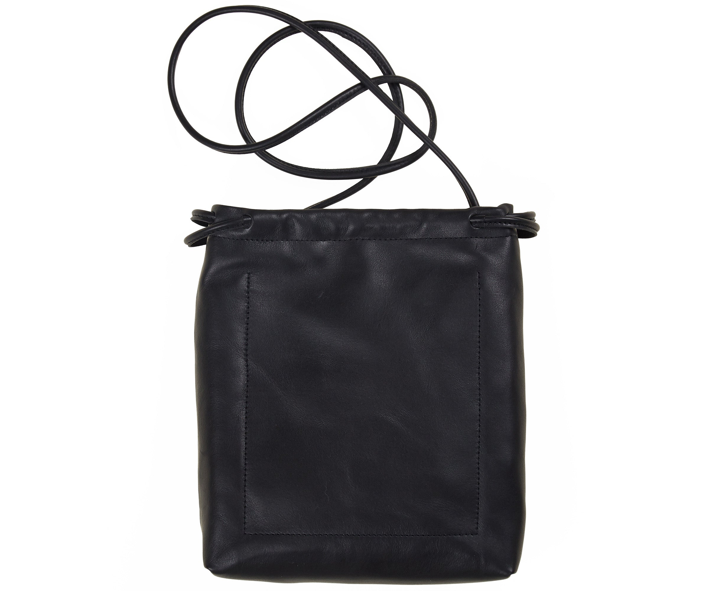 Small Adjustable Shoulder Bag Black