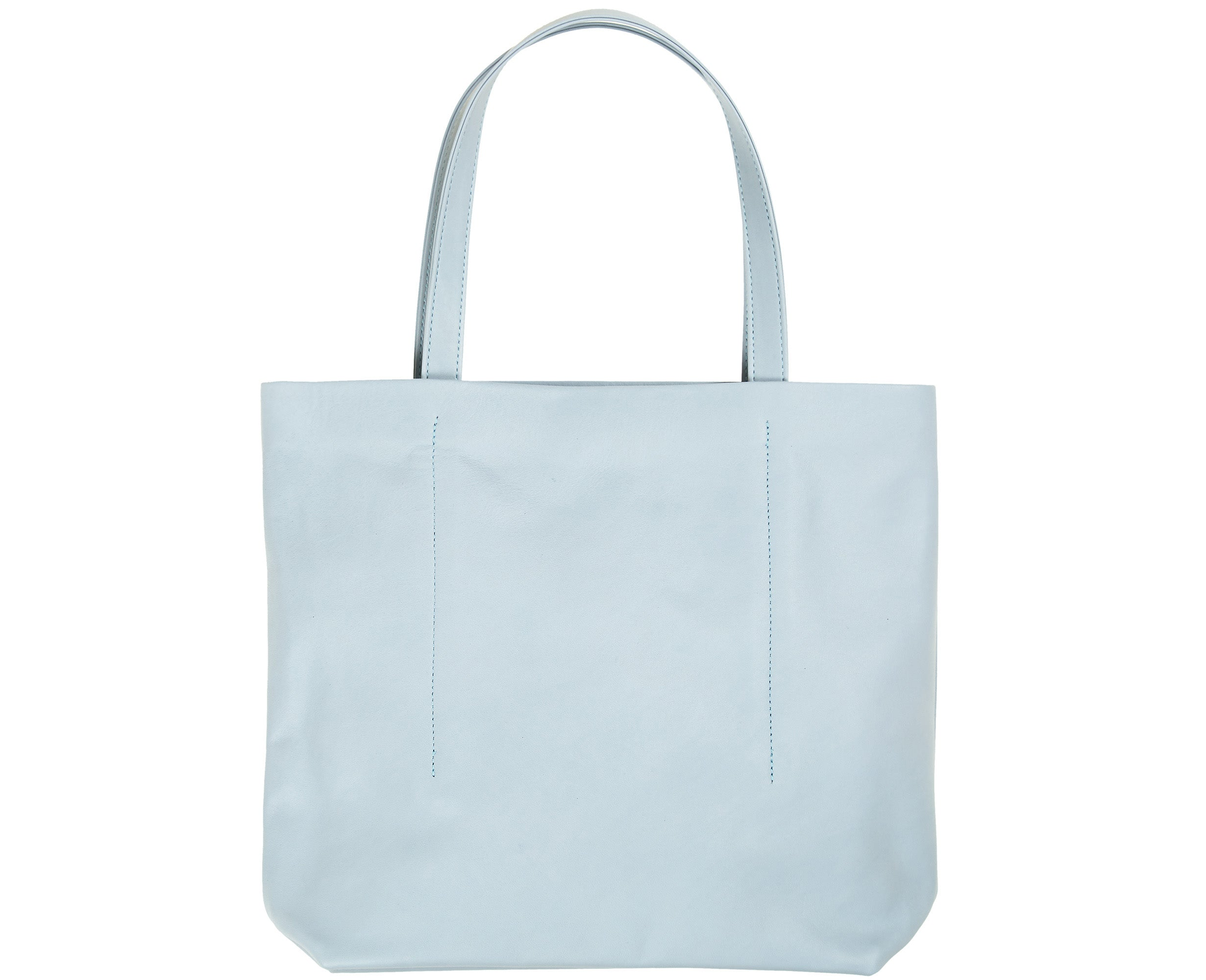 Isaac Reina Small Highway Tote Ice Blue