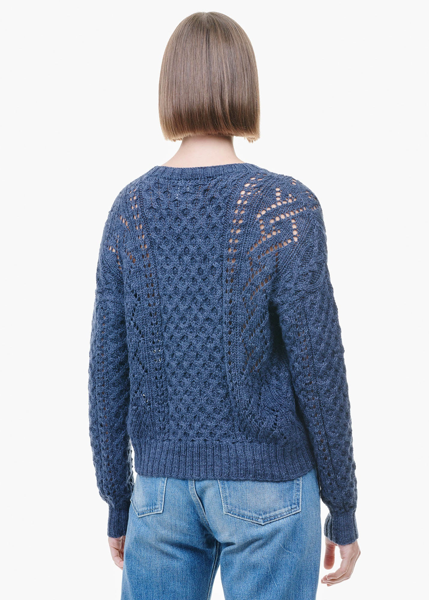Patterns Sweater Concrete