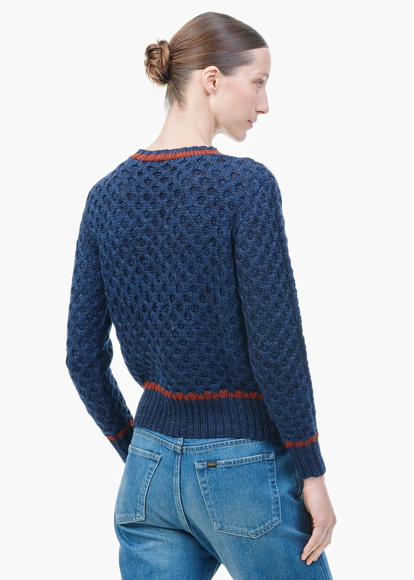 Crew Neck Sweater Curie Blue