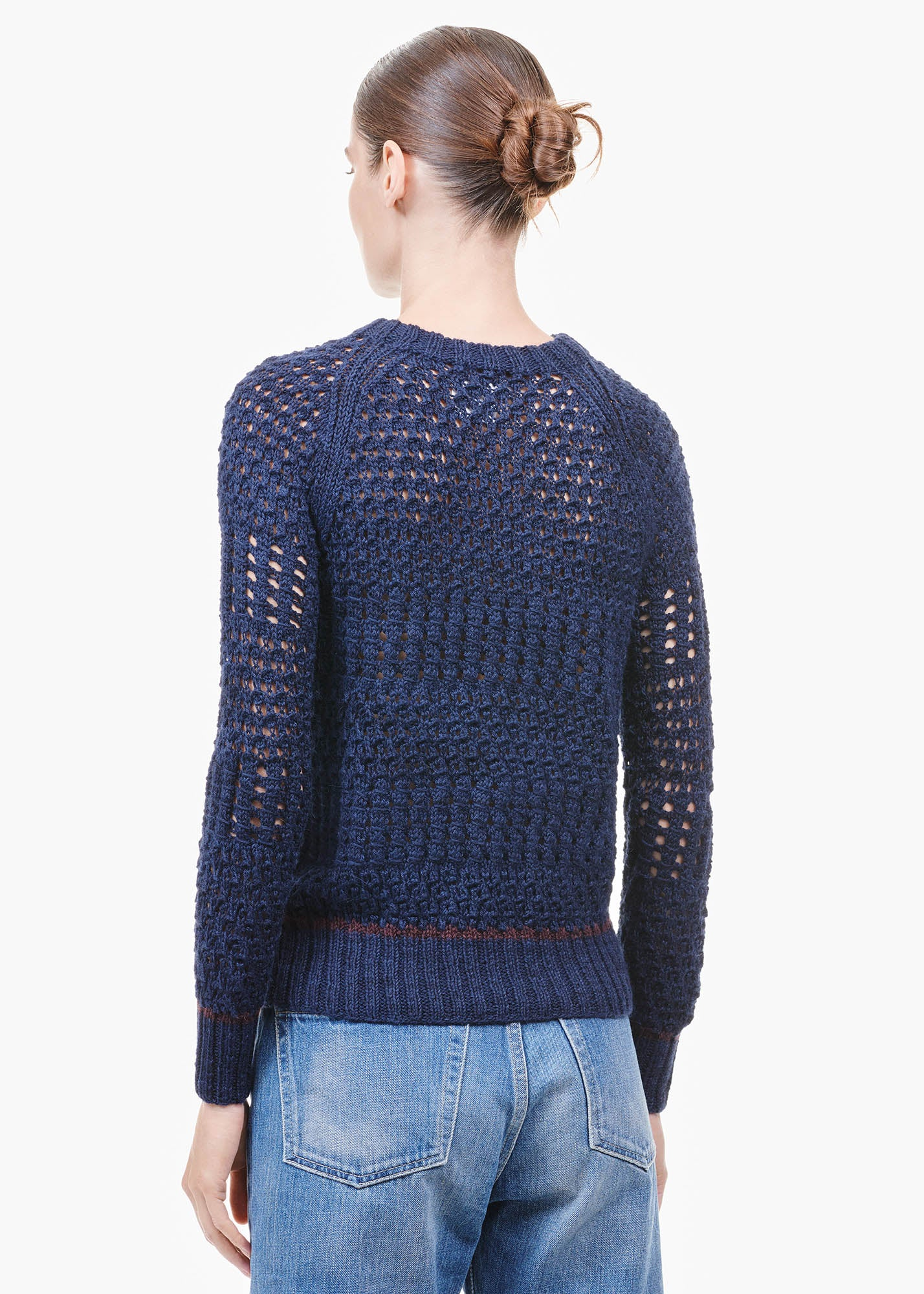 Textures Sweater Graphite Blue