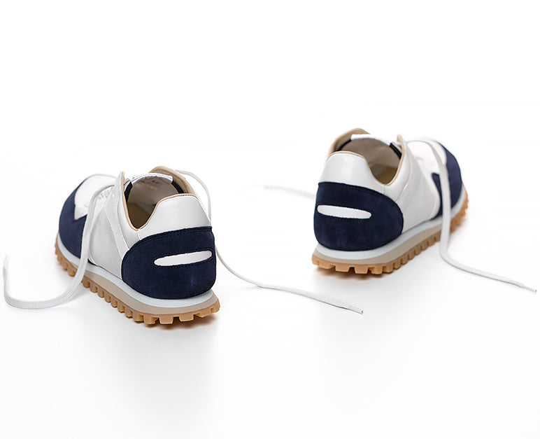 Marathon Trail Low Navy/  White