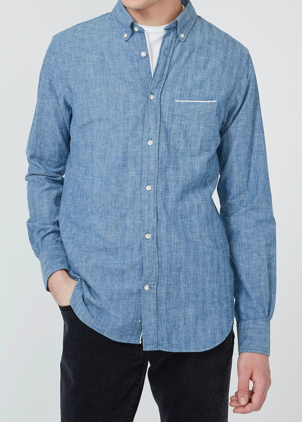 Button Down Shirt Chambray