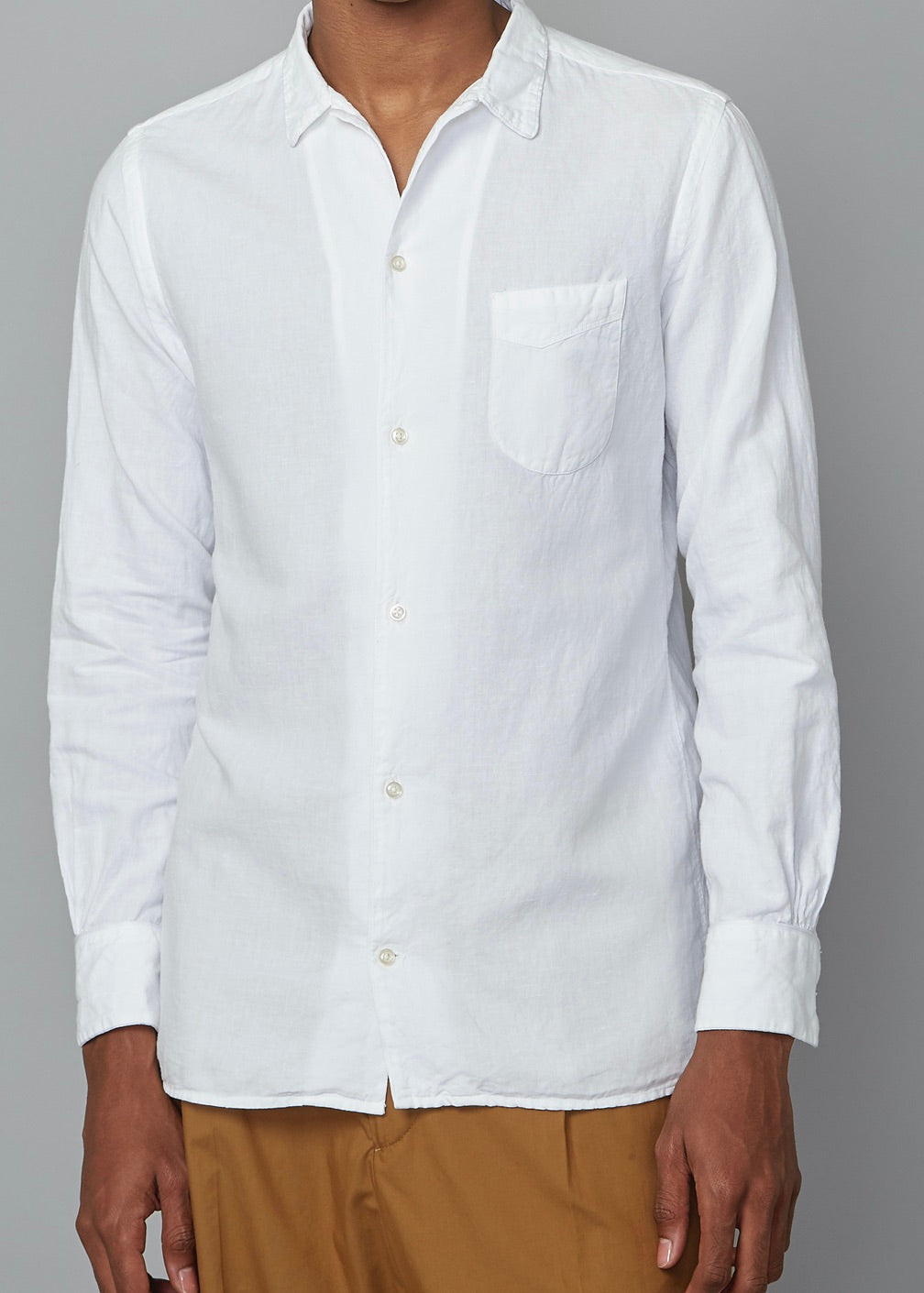 JS Piping Shirt White