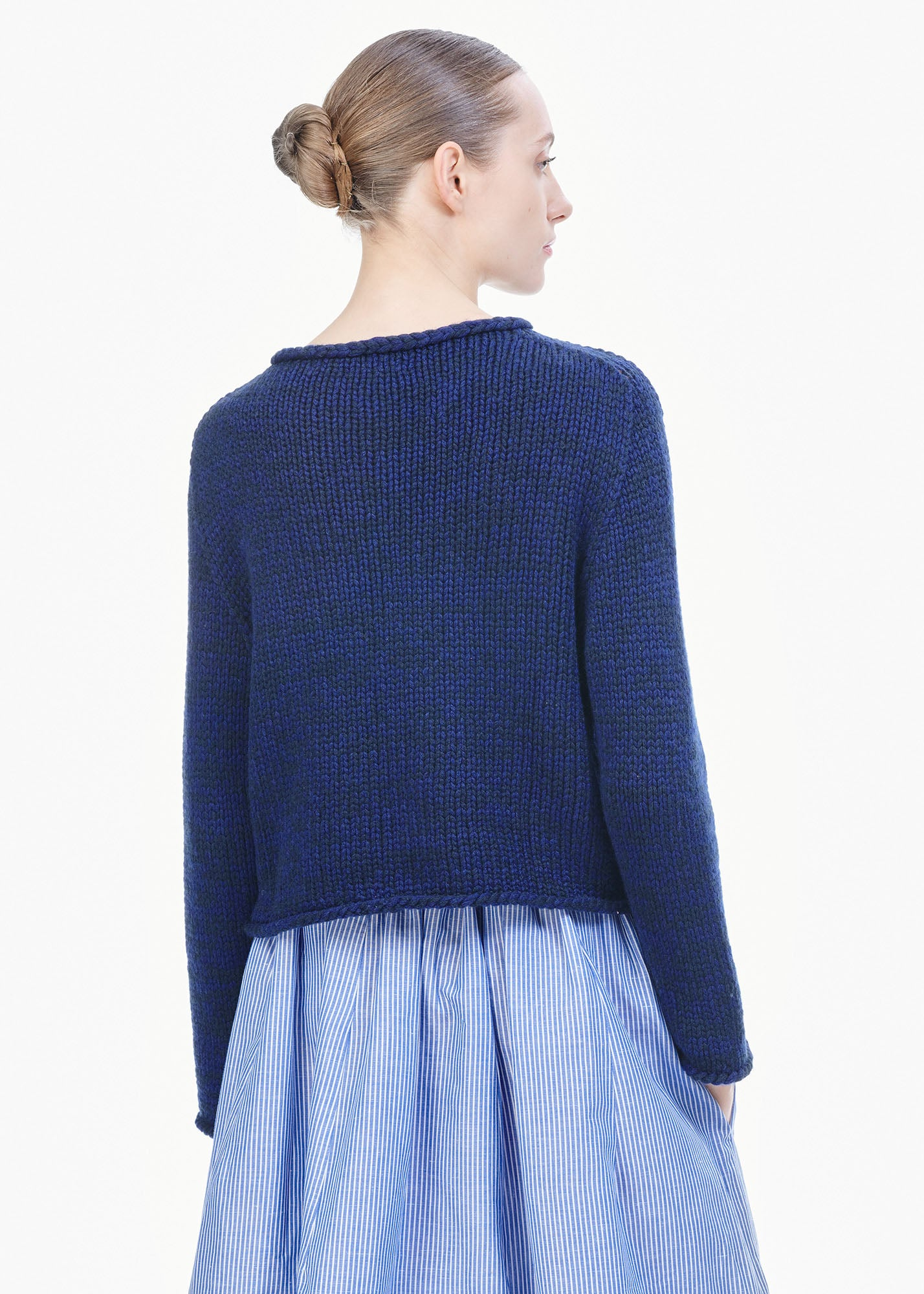 Caro Cashmere Sweater Ink Blue/ Atlantic