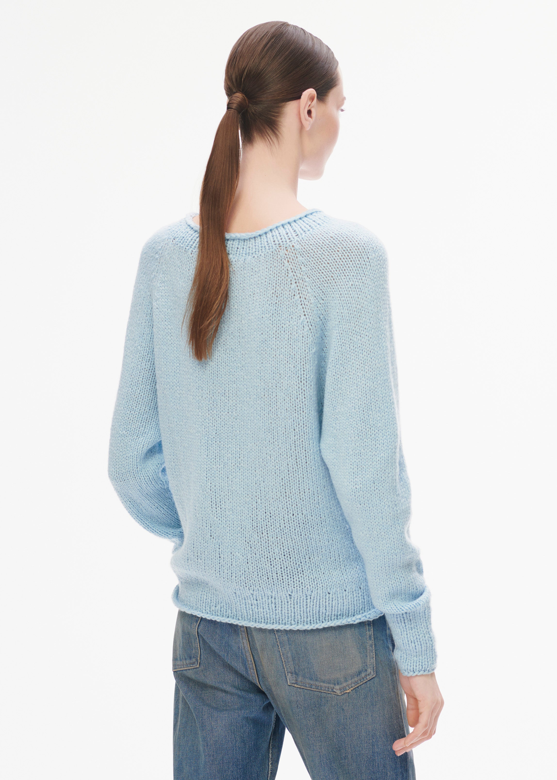 Hanami Sweater Light Blue
