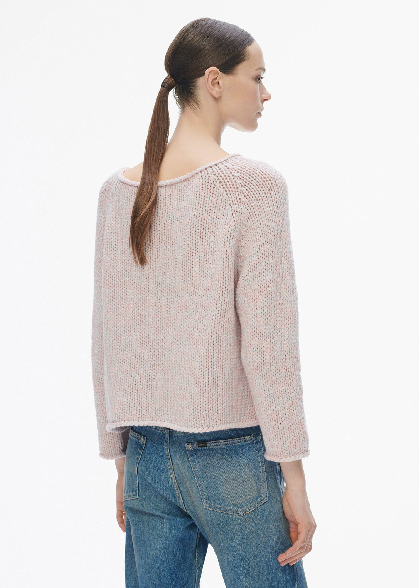 Mian Sweater Vieux Rose/ Silver