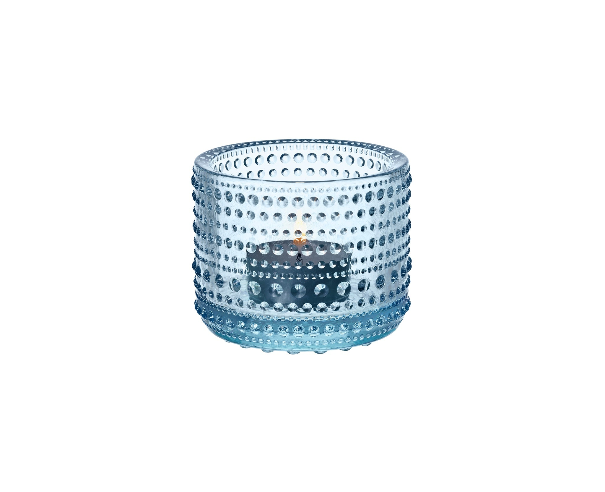 Iittala Kastehelmi Tealight Holder Light Blue
