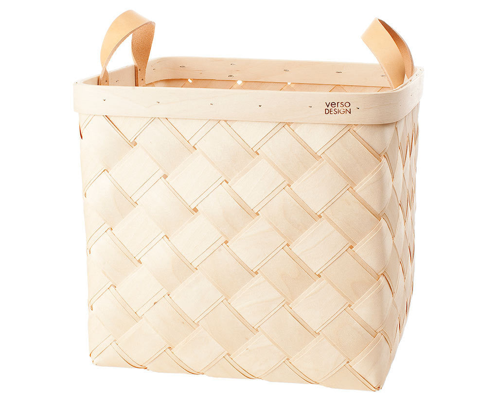 Verso Design Lastu Birch Basket L