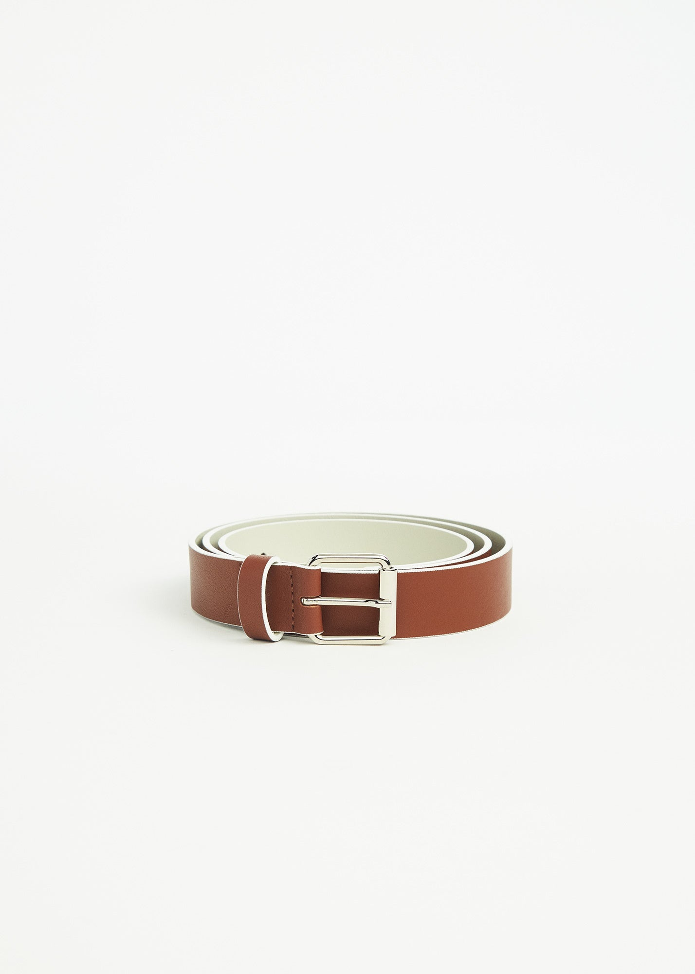Virginia Belt Havana/ Linen
