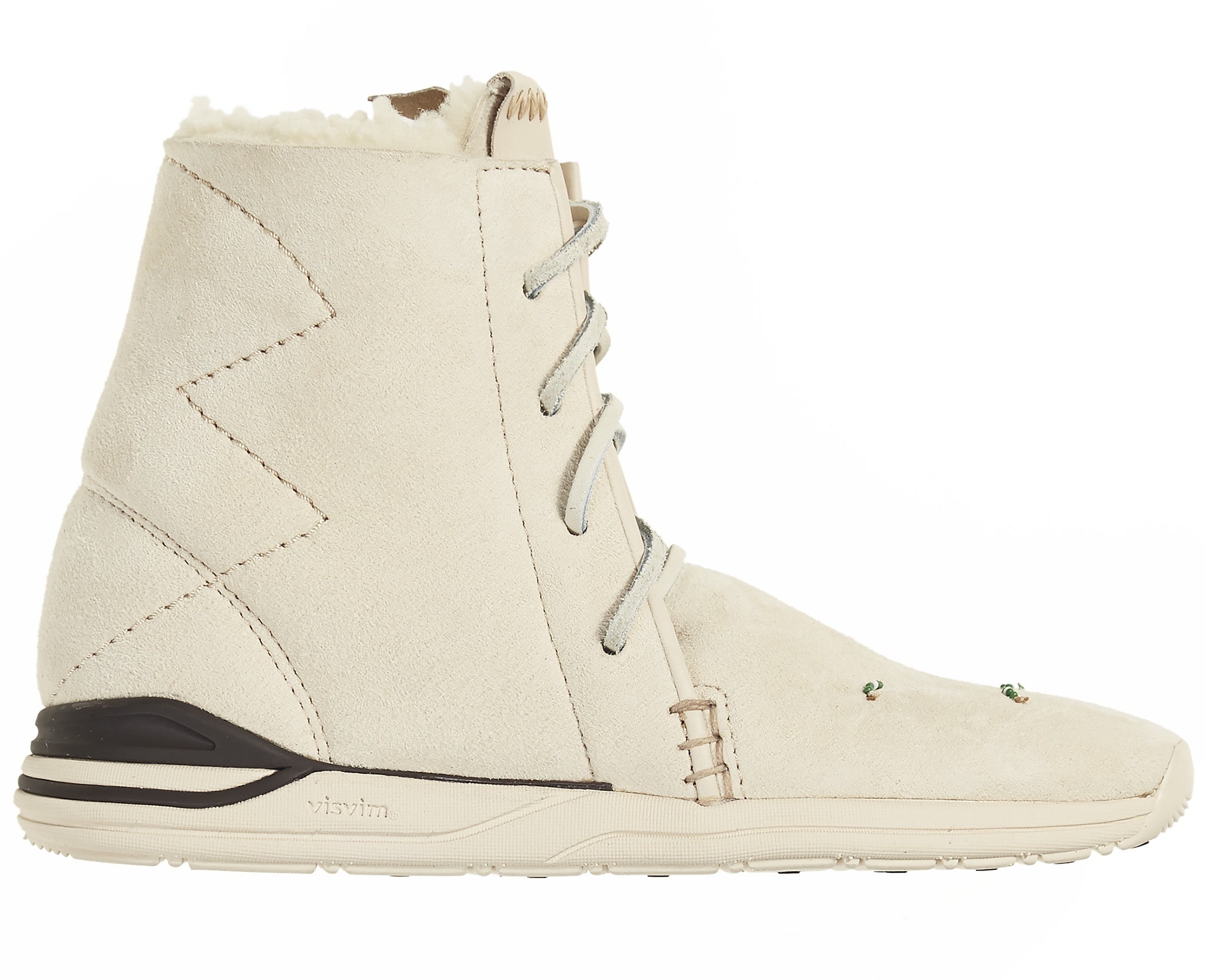 Women's Huron Moc Hi-Folk Shearling Natural