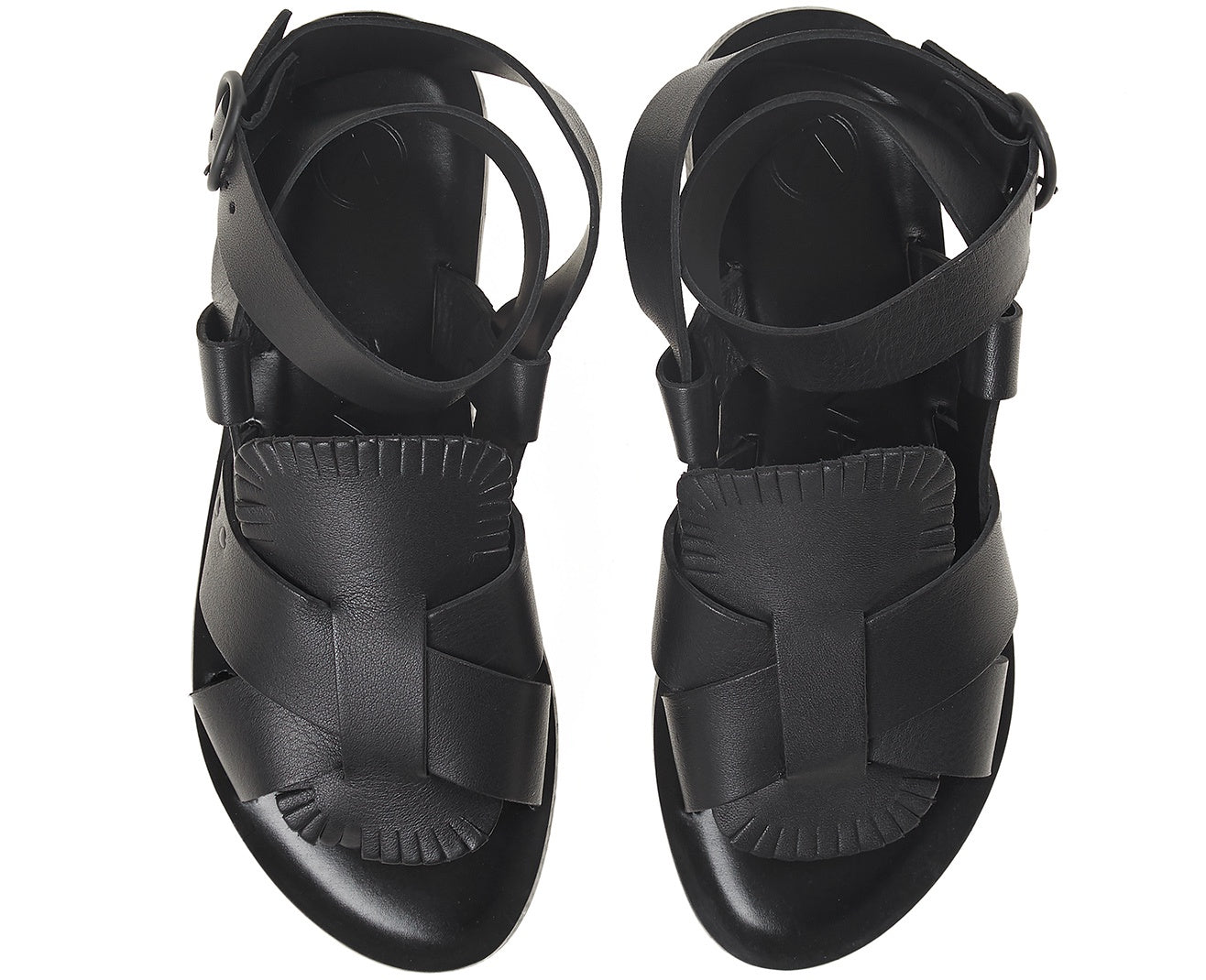 Antoniona Buckle Sandal Black