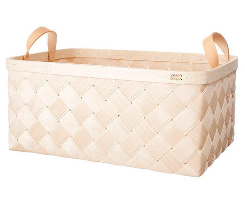 Lastu Birch Basket XXL