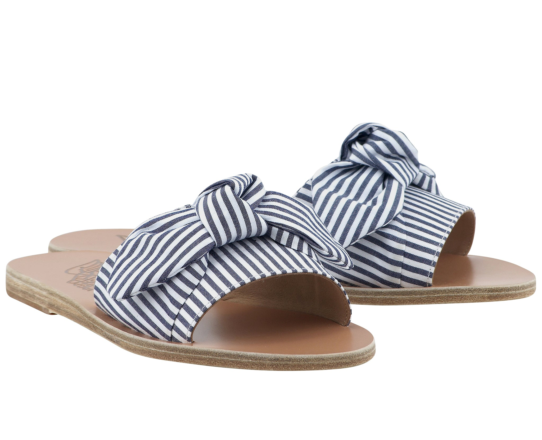 Taygete Bow Blue Stripes