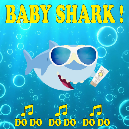Baby Shark: Kids Suncare Kit Sun Bum + Babiators