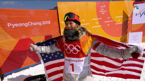 Chloe Kim Lands Back to Back 180s for the Gold