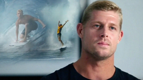 Mick Fanning and X-Wear