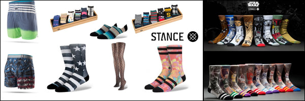 Stance Socks and Underwear on X-Wear