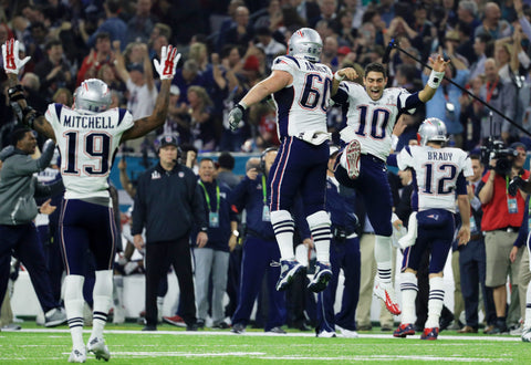 Patriots win Superbowl 51 in typical exciting fashion