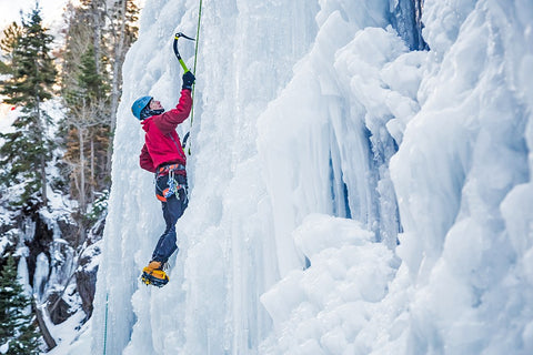 Ice Climbing on X-Wear.com