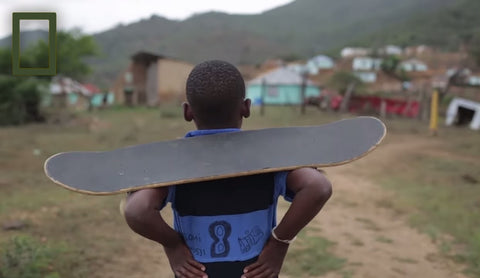 Skateboarding in Africa on X-Wear.com