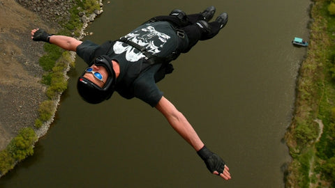 Jeb Corliss Base Jumping and WingSuit Flying on X-Wear.com