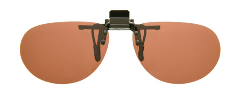 Cocoons Flip-Ups Oval Sunglasses
