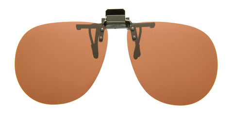 Cocoons Flip-Ups Aviator XL Sunglasses