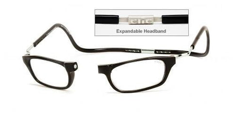Clic Expandable Black Readers  XXL