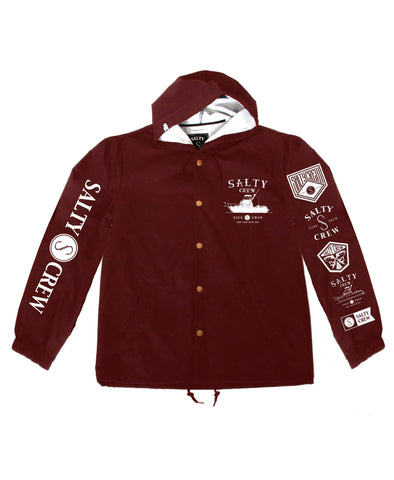 Salty Crew Crusty Boat Snap Men's Jacket