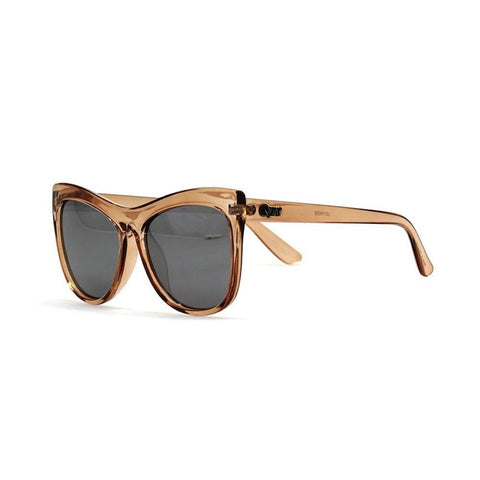 Quay Joyride Black / Pink Mirror Sunglasses