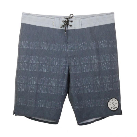 Salty Crew Jig Stripe Trunks Navy 38 Men's Boardshorts