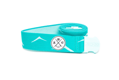 Arcade The Del Mar Teal O/S Men's Belt