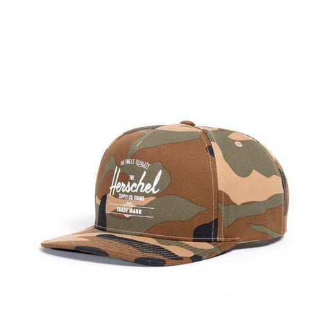 Herschel Whaler Cotton Woodland Camo Men's Hat