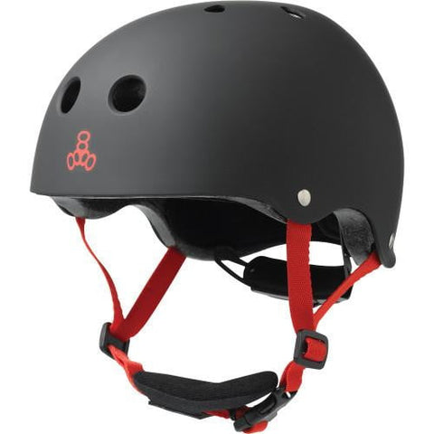 Triple 8 Little Tricky Kids Helmet Black Rubber