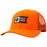 Salty Crew Alpha Decoy Orange Retro Trucker