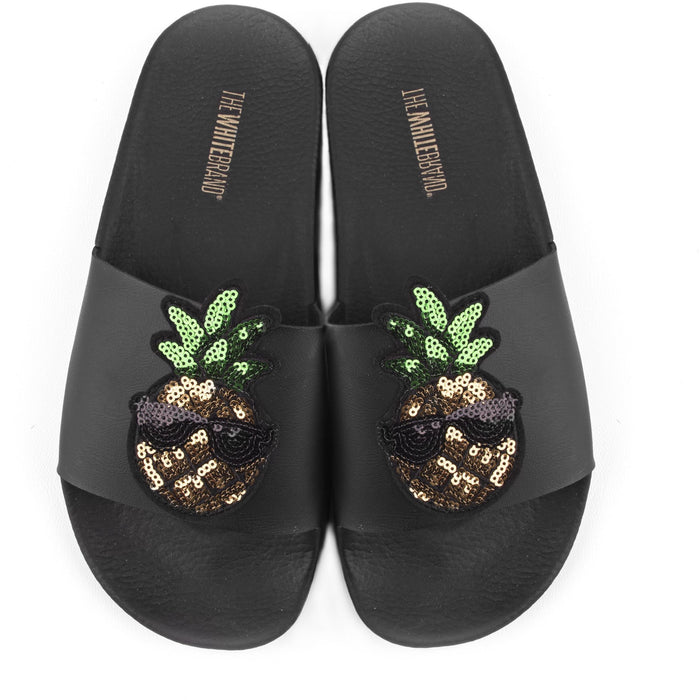 The White Brand Pineapple Sandals