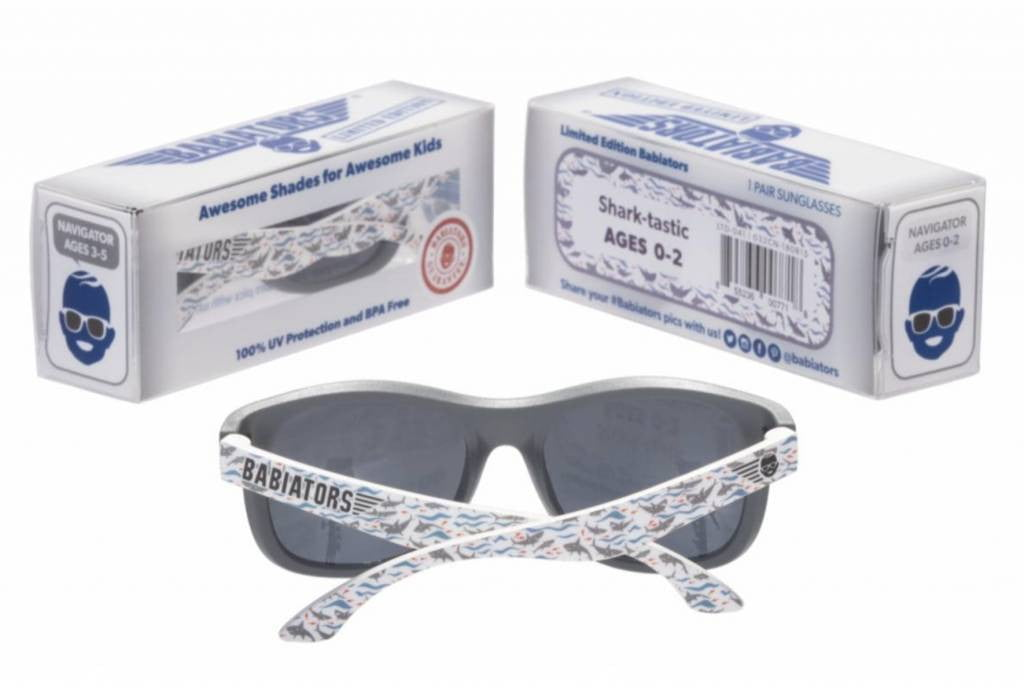 Babiators Shark-Tastic Navigator Kids Sunglasses