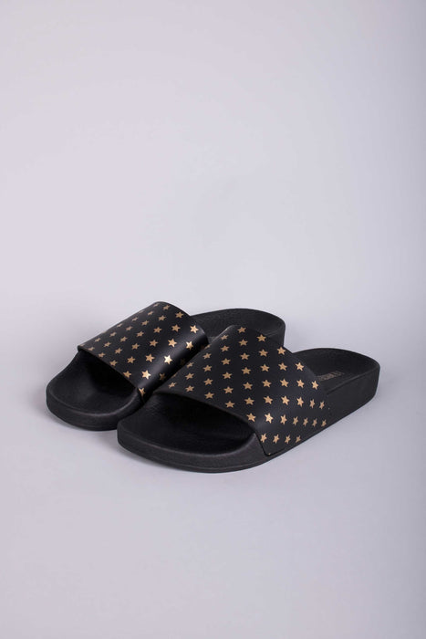 The White Brand Mini Gold Stars Sandals