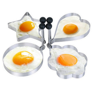 Egg Pancake Ring Mould Molds Kitchen Gadget