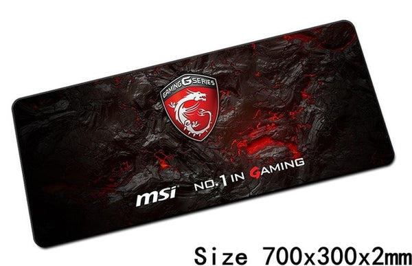 MSI mouse pads 70x30cm pad to mouse notbook computer