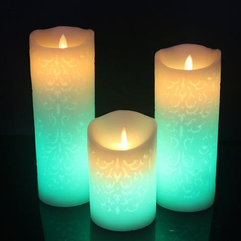 Color Change Gradient LED Candles